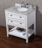 Marla 30-inch Single Sink Bathroom Vanity with Mirror - Still Waters Bath - 8
