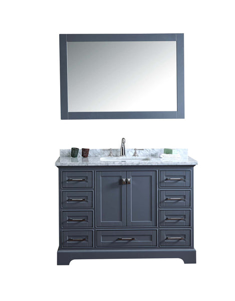 Newport 48-inch Single Sink Bathroom Vanity with Mirror - Still Waters Bath - 2