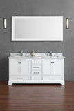 Newport 72-inch Double Sink Bathroom Vanity with Mirror - Still Waters Bath - 8