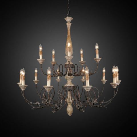 43 Inch Chandelier with 16 Lights LR7026-43