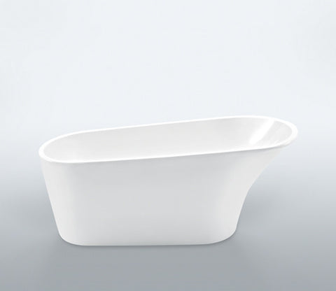 Pease 64-inch Roll Top Acrylic Bathtub - Still Waters Bath