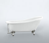 Carol 61-inch Slipper Acrylic Bathtub - Still Waters Bath - 2