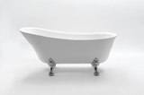 Aaliyah 67-inch Slipper Acrylic Bathtub - Still Waters Bath - 2