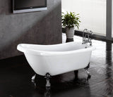 Laurel 67-inch Slipper Acrylic Bathtub - Still Waters Bath - 2