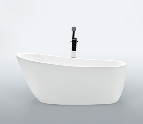"Audree 68"" Slipper Acrylic Bathtub"