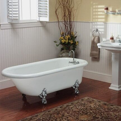 The Regent 60-inch Acrylic Bathtub