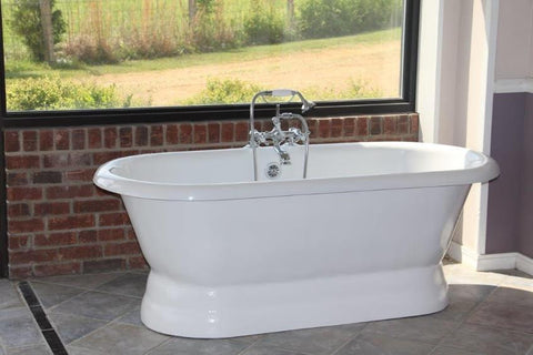 The Majesty 66-inch Acrylic Bathtub