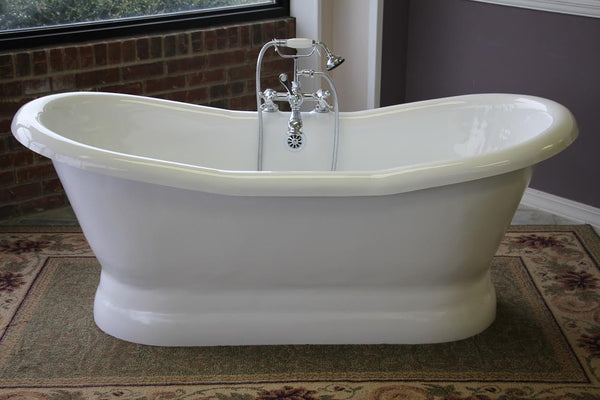 The Empress 68-inch Acrylic Bathtub