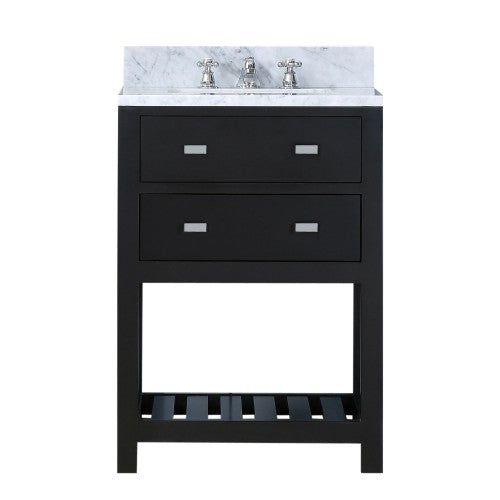"Water Creation Madalyn 24"" Espresso Single Sink Bathroom Vanity"
