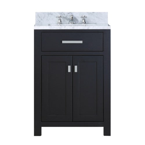 "Water Creation Madison 24"" Expresso Single Sink Bathroom Vanity"