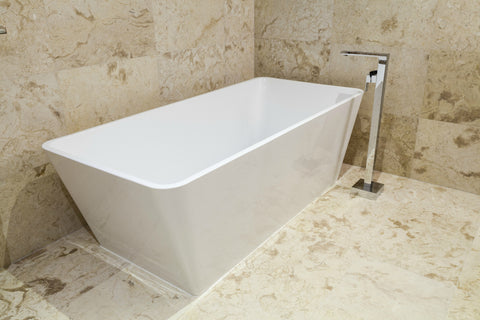 Kenway 69-inch acrylic dual bathtub - Still Waters Bath - 2