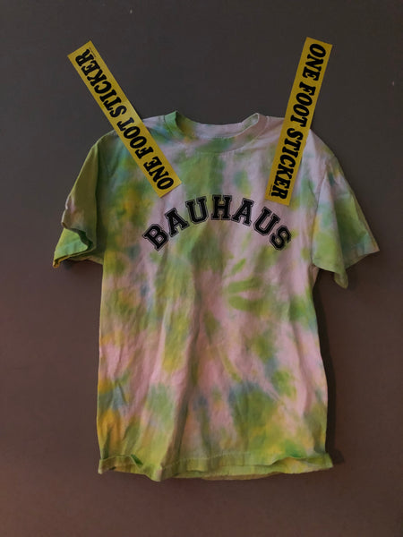 bauhaus short sleeve Tie Dye Medium