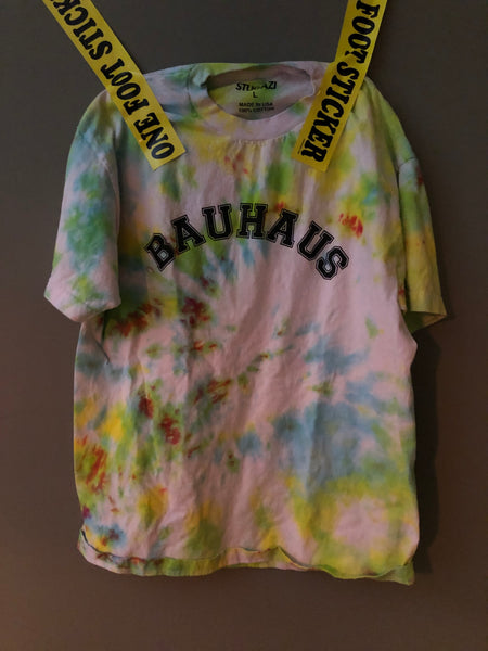 bauhaus short sleeve Tie Dye Large