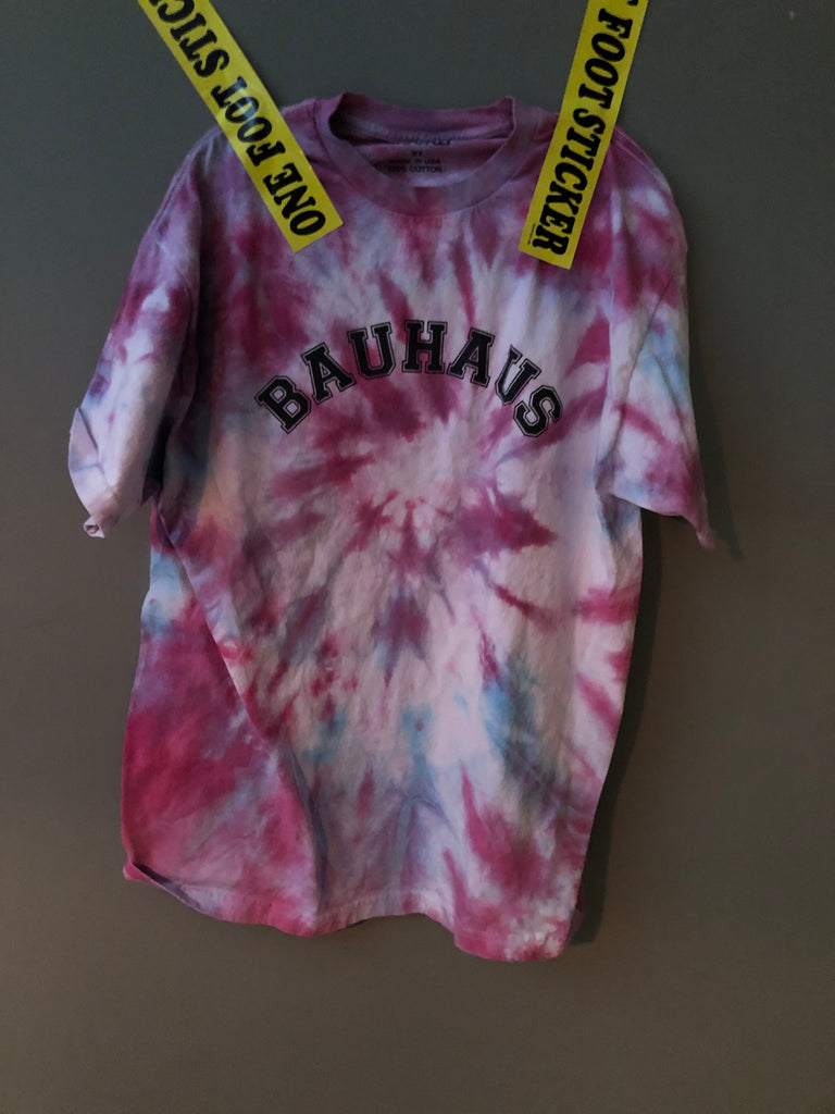 bauhaus short sleeve Tie Dye XL