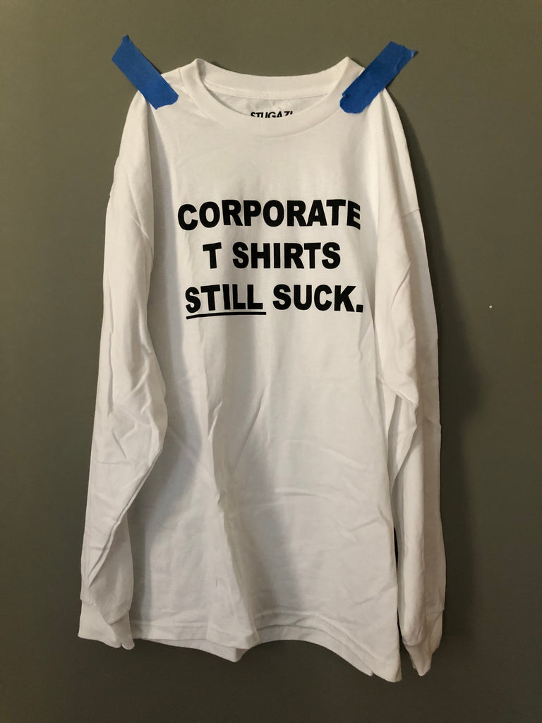 Corporate T shirts long sleeve