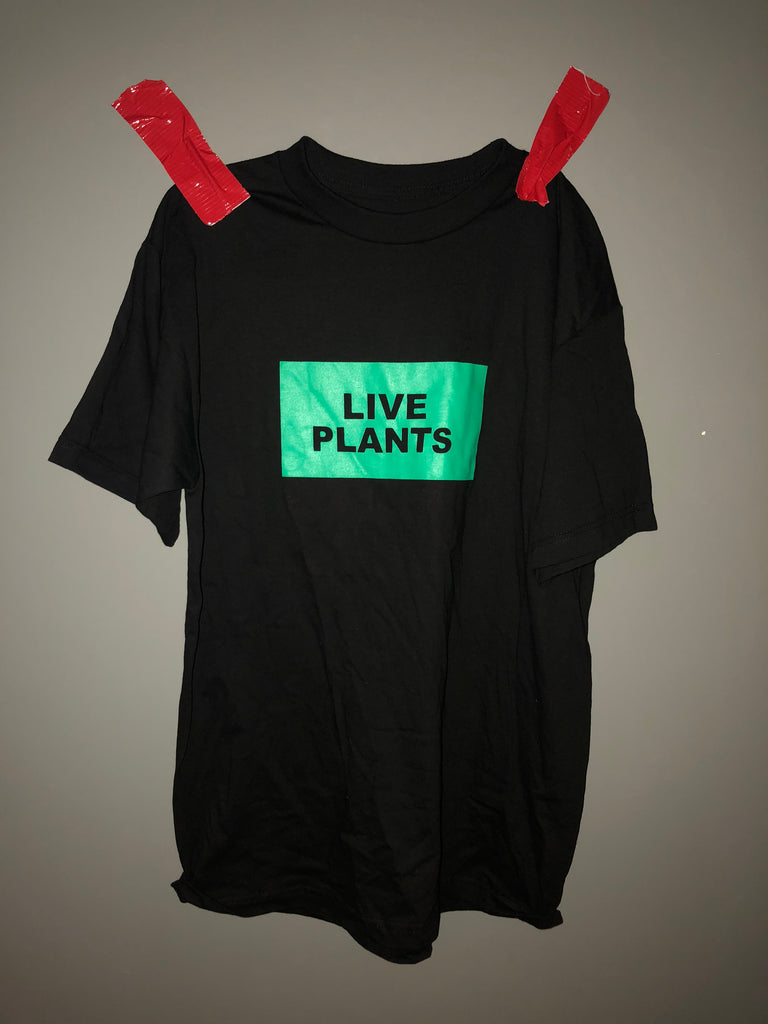 live plants/ live animals reversible short sleeve