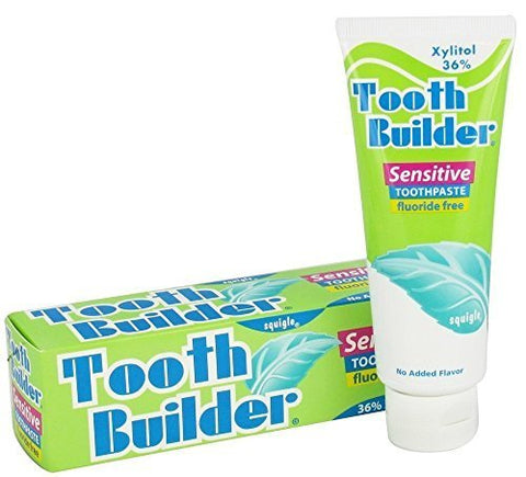 Squigle Tooth Builder Toothpaste HELPS STOP TOOTH SENSITIVITY and Canker Sores