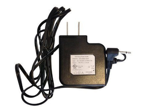 UniquExceptional AC Adapter for MA30RcR and MA20 Motion Alarms.