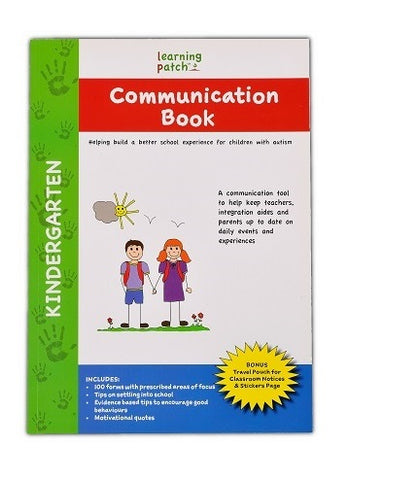 Communication Book - Kindergarten Edition