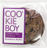 BLUEBERRY MUFFIN COOKIE 6PCS PER PACK - 45G