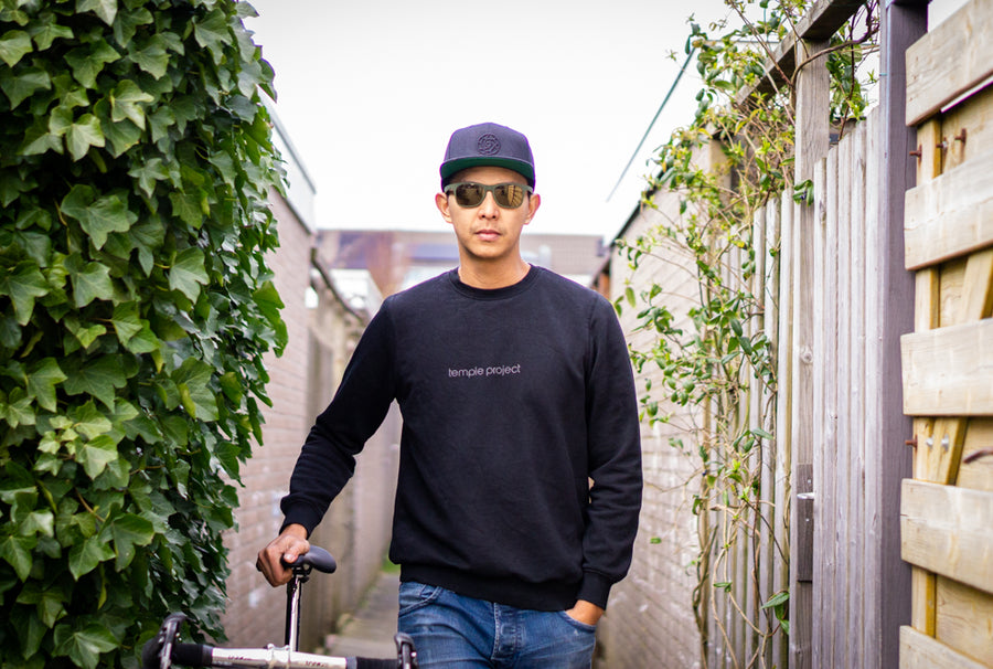 Off the bike sweatshirt - Black