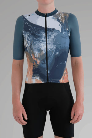 Womens's altitude collapse jersey - sketch 238