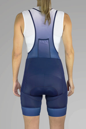 Women's core bib shorts 2.0 - Navy blue