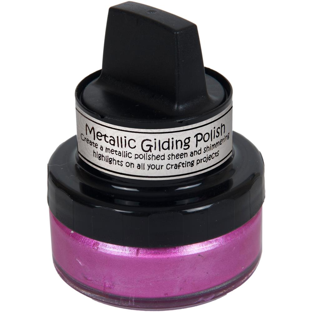 Cosmic Shimmer Metallic Gilding Polish - Indian Pink