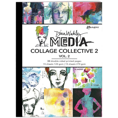Dina Wakley Media Mixed Media Collage Collective Vol.2