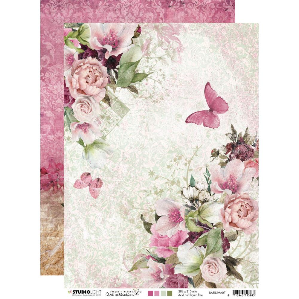 Jenine's Mindful Art 3.0 Double-Sided Cardstock A4 - BASISJMA07