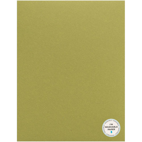 "American Crafts Washable Matte Paper 8.5""X11"" - Spinach 359618"