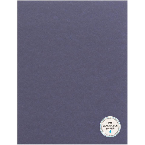 "American Crafts Washable Matte Paper 8.5""X11"" - Storm 359617"