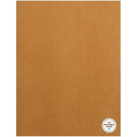 "American Crafts Washable Matte Paper 8.5""X11"" - Caramel 359612"
