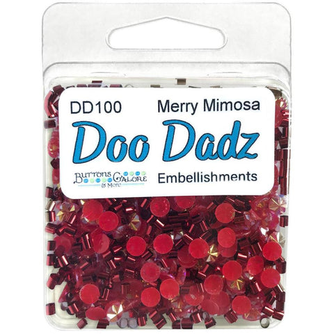 Buttons Galore Doodadz Embellishments - Merry Mimosa DD100