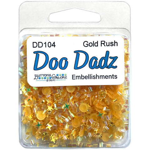 Buttons Galore Doodadz Embellishments - Gold Rush DD104