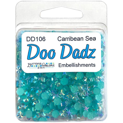 Buttons Galore Doodadz Embellishments - Caribbean Sea DD106