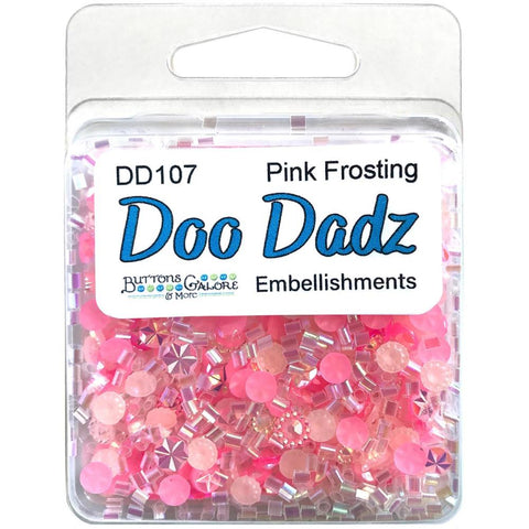 Buttons Galore Doodadz Embellishments - Pink Frosting DD107