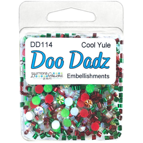 Buttons Galore Doodadz Embellishments - Cool Yule DD114
