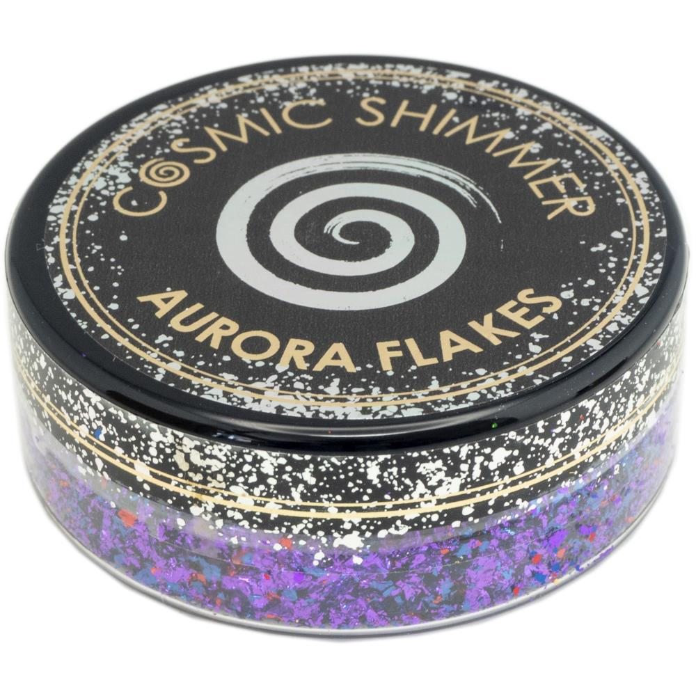 Creative Expressions Cosmic Shimmer Aurora Flakes 50ml - Passion Pop