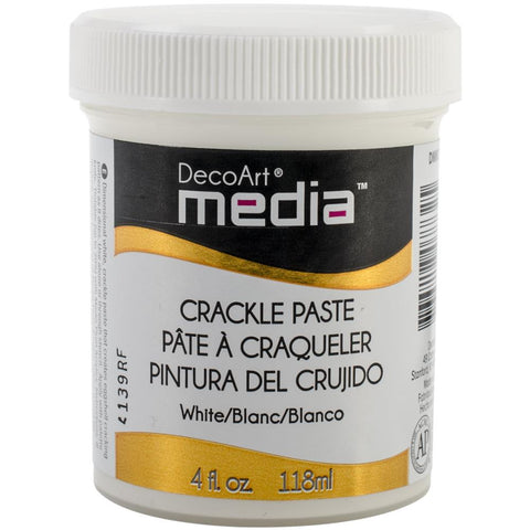 Media Crackle Paste 4oz- White DMM17