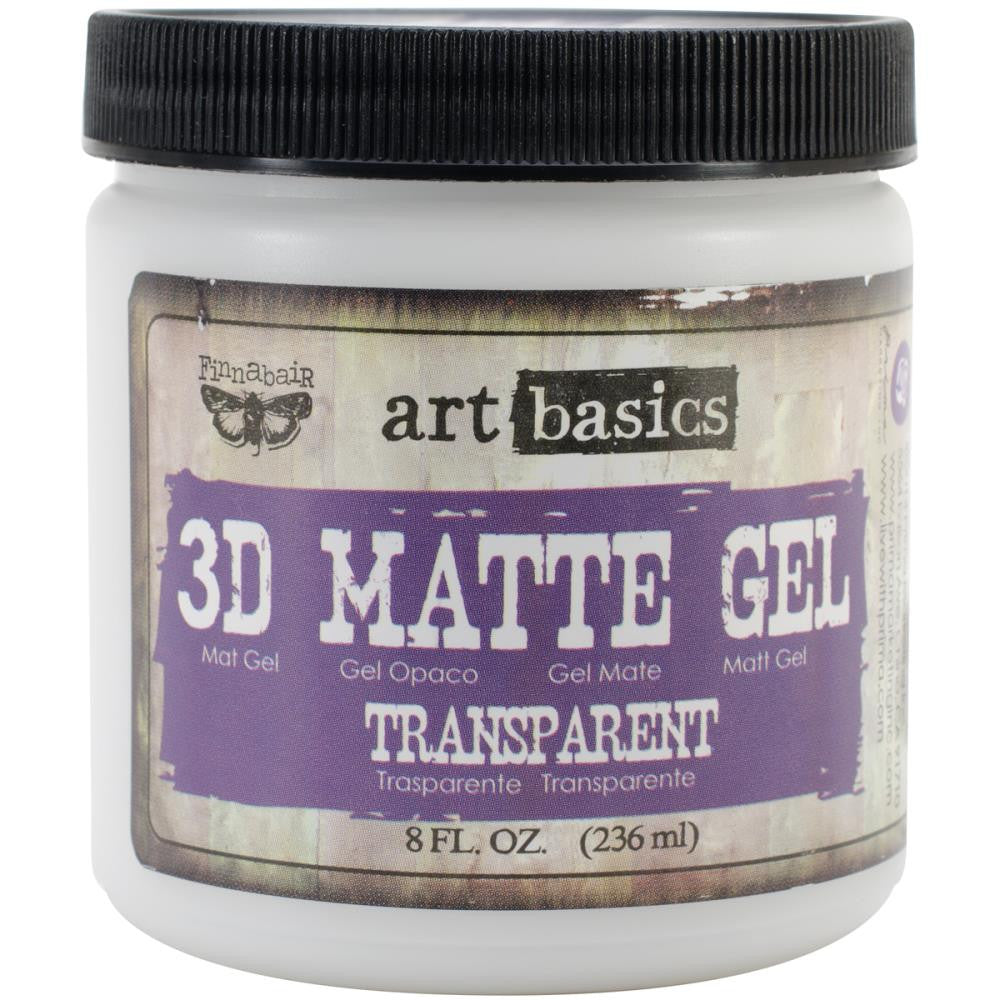 Finnabair Art Basics 3D Matte Gel 8oz