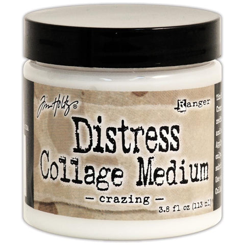 Tim Holtz Distress Collage Medium - Medium Crazing