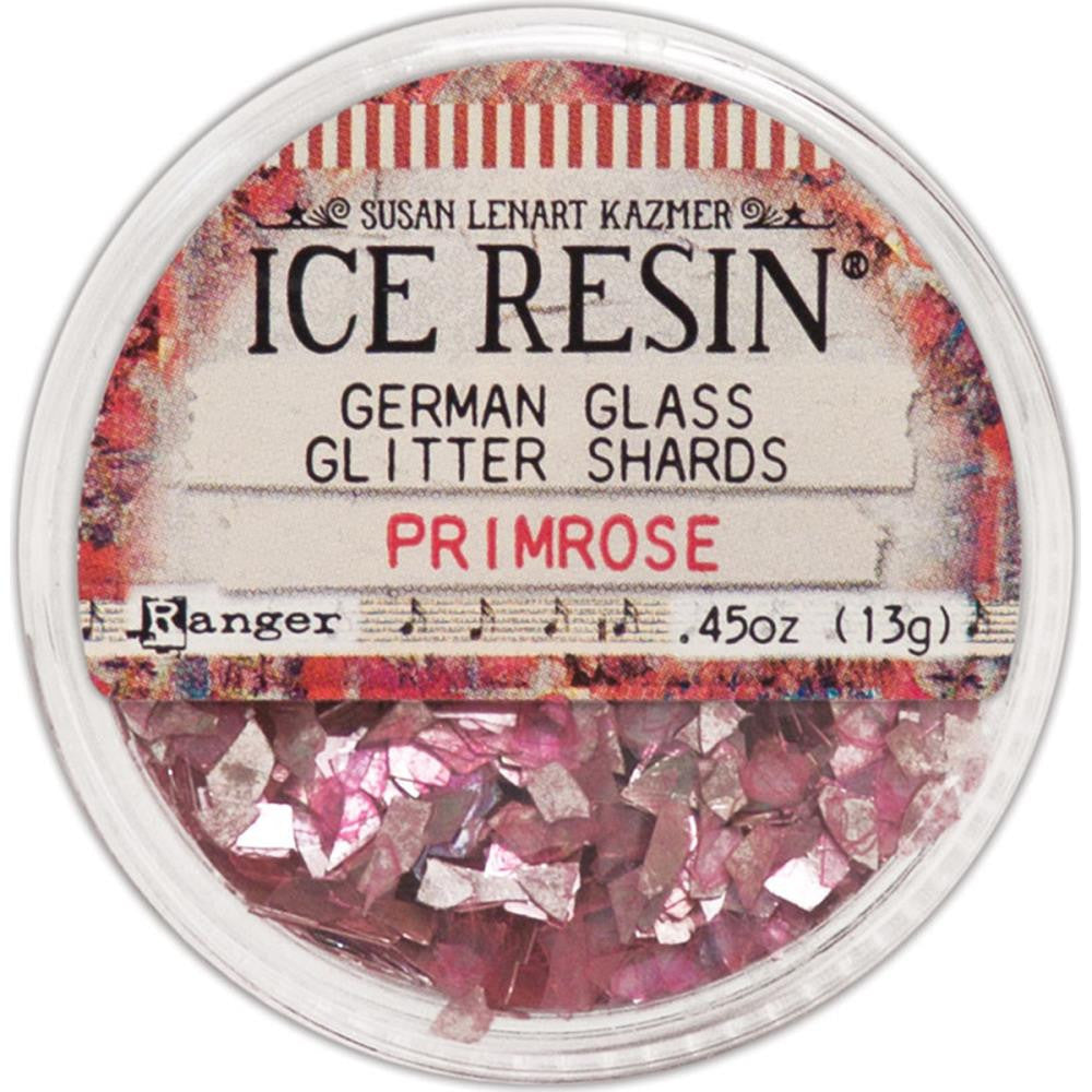 Ice Resin Glass Glitter Shards - Primrose