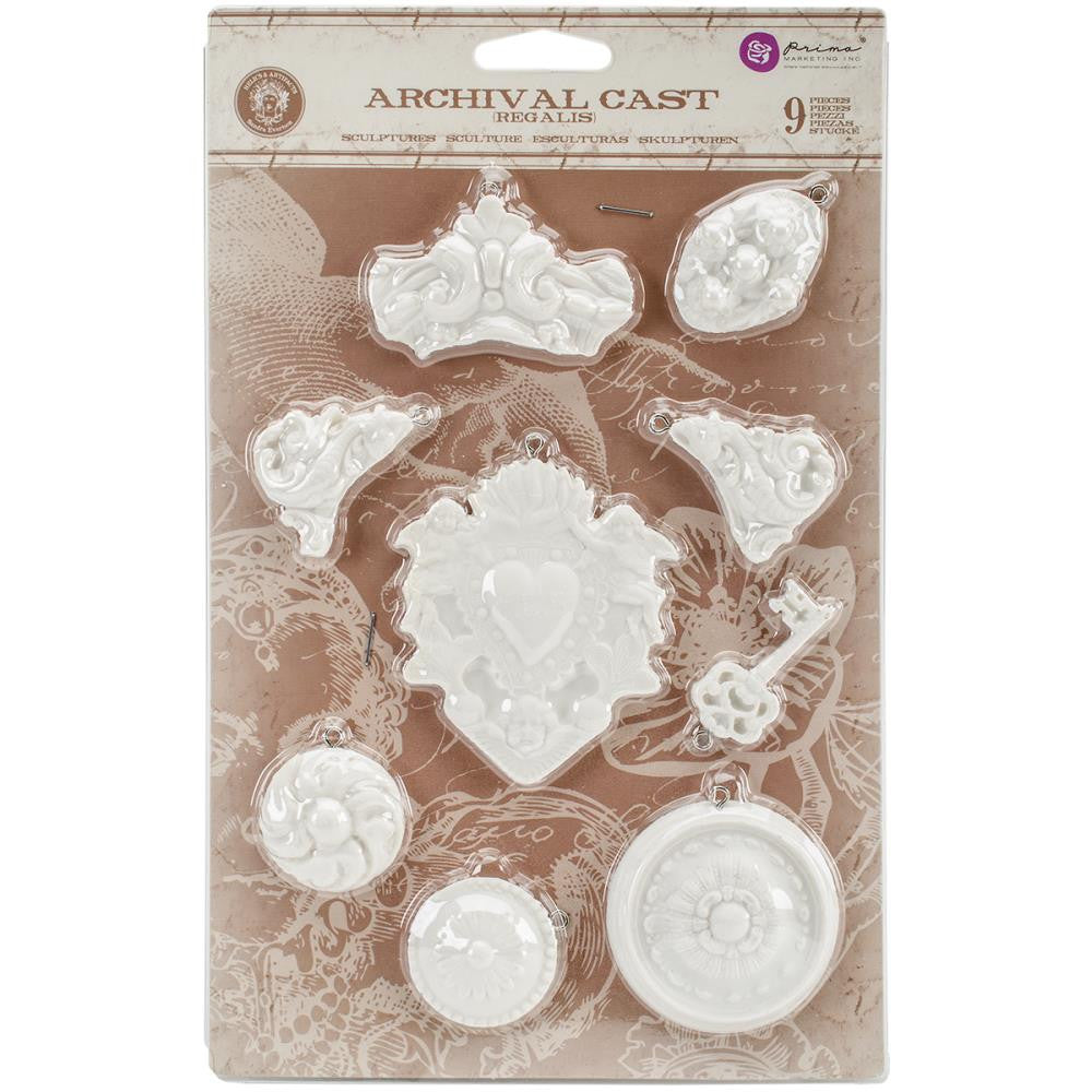 Prima Marketing Relics & Artifacts Archival Cast - Regalis, 9/Pkg