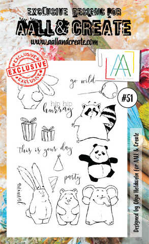 AALL & Create -  Stamp set #51
