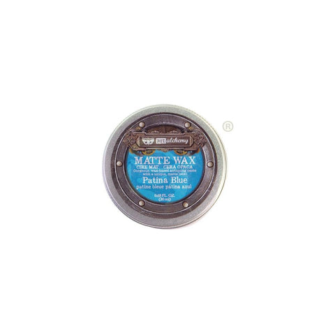 Finnabair Art Alchemy Matte Wax .68 Fluid Ounce - Patina Blue 967871