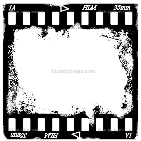 Stampotique Originals Filmstrip 7437
