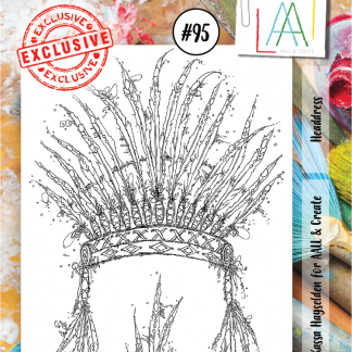 AALL & Create Stamp set A7 #95