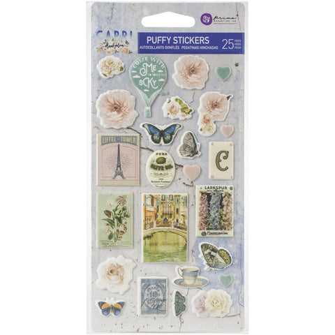 Prima Marketing Capri Puffy Stickers 25/Pkg - 996055