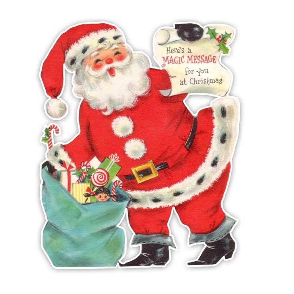 Pretty Little Studio - Vintage Die-cut | Santa #5